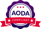 AODA Compliant badge